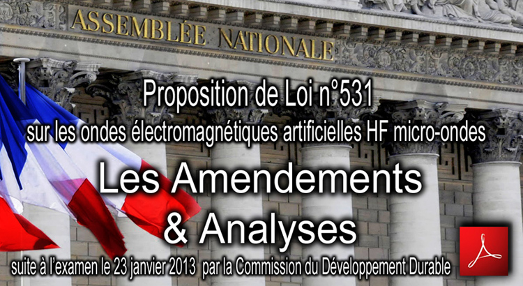 Amendements_Analyses_Proposition_de_Loi_531_Risques_Ondes_Electromagnetiques_Assemblee_Nationale_flyer_750_23_01_2013