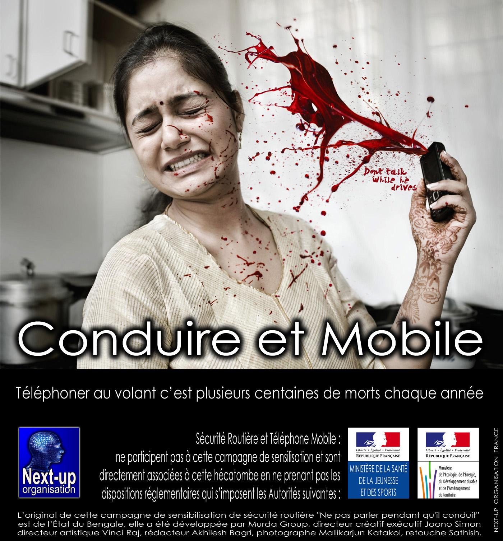 S curit routi re t l phone mobile road safety mobile phone - Ne plus recevoir de coup de telephone publicitaire ...