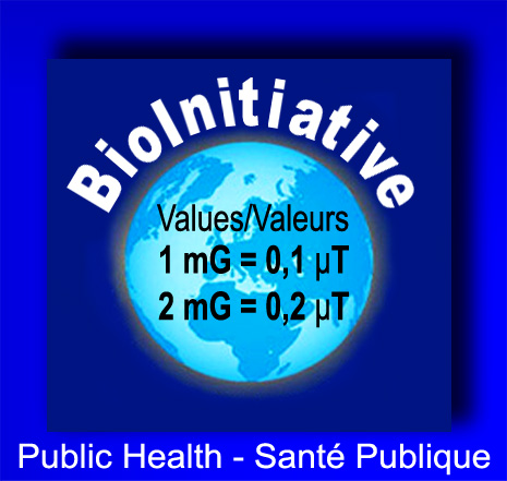 BioInitiative_Valeurs_mG_In_Out