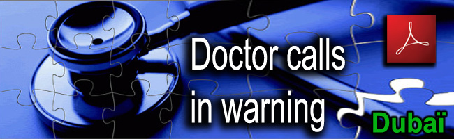 Dubai_Dr_Howard_Fisher_Doctor_calls_in_warning