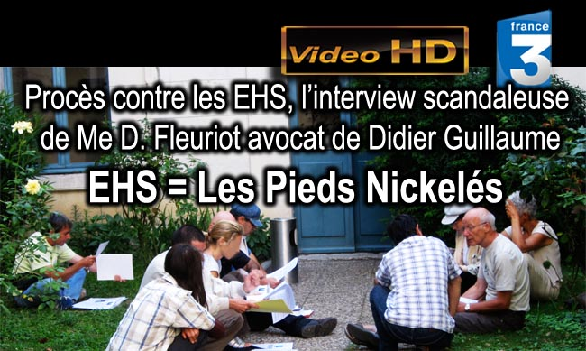 France_3_Proces_contre_les_EHS_Interview_scandaleuse_Me_D_Fleuriot_avocat_Didier_Guillaume_21_07_2010_news