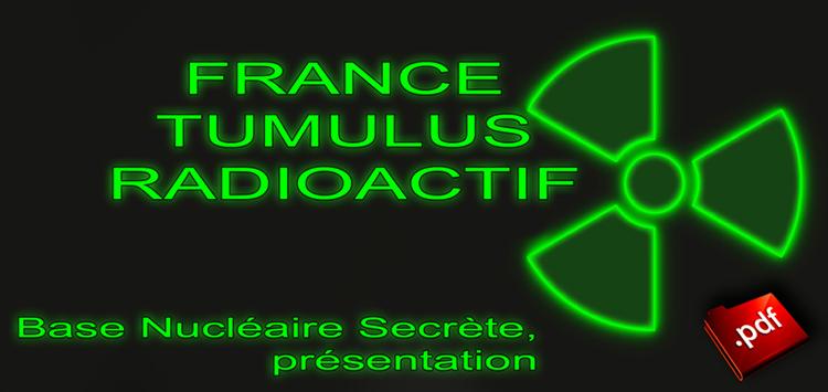 france tumulus radioactif tricastin presentation. Black Bedroom Furniture Sets. Home Design Ideas