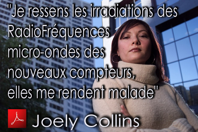 Joely_Collins_EHS_ressent_les_RadioFrequences_micro_ondes_des_compteurs_BC_Hydro_05_03_2012_news