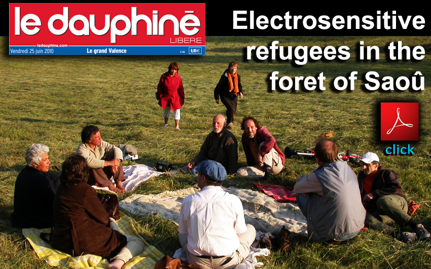 Le_Dauphine_Electrosensitive_refugees_in_the_foret_of_Saou_News_25_06_2010