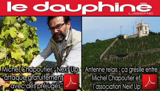 Le_Dauphine_Michel_Chapoutier_Next_up_Antennes_Coteau_Tain_Hermitage_Flyer_News_20_07_2012
