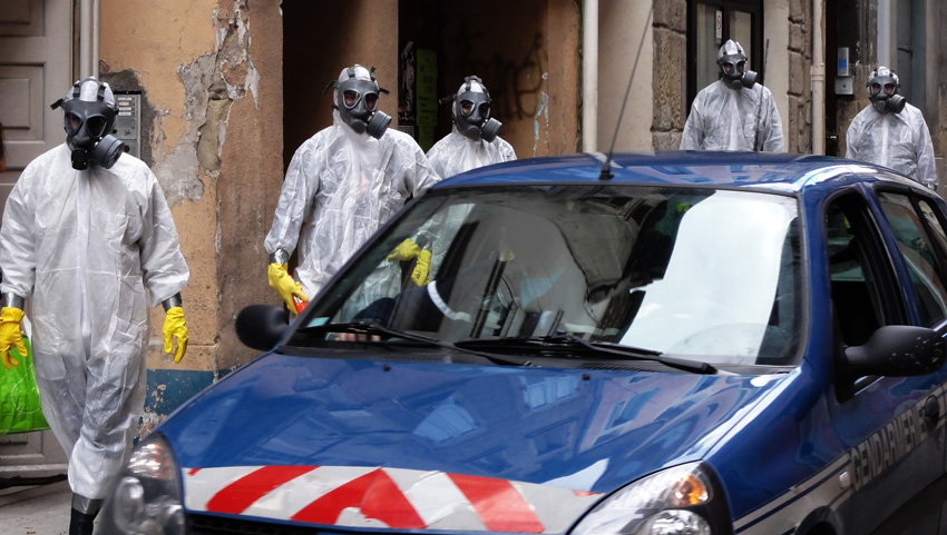 NBC_Nuclear_Biological_Chemical_Protection_Europa_Demo_Gendarmerie
