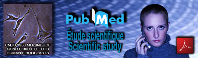 NCBI_Pub_Med_etude_scientific_study_UMTS_Genotoxic_news