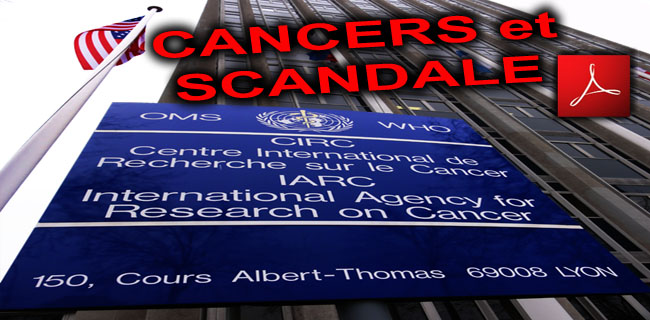 OMS_IARC_WHO_CIRC_Lyon_France_Scandale_Centre_International_de_Recherche_sur_le_Cancer_03_05_2011_news