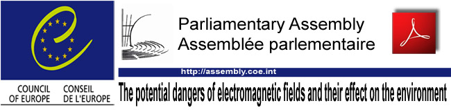 Parliamentary_Assembly_Council_of_Europe_Report_The_potential_dangers_of_electromagnetic_fields_and_their_effect_on_the_environment_06_05_2011