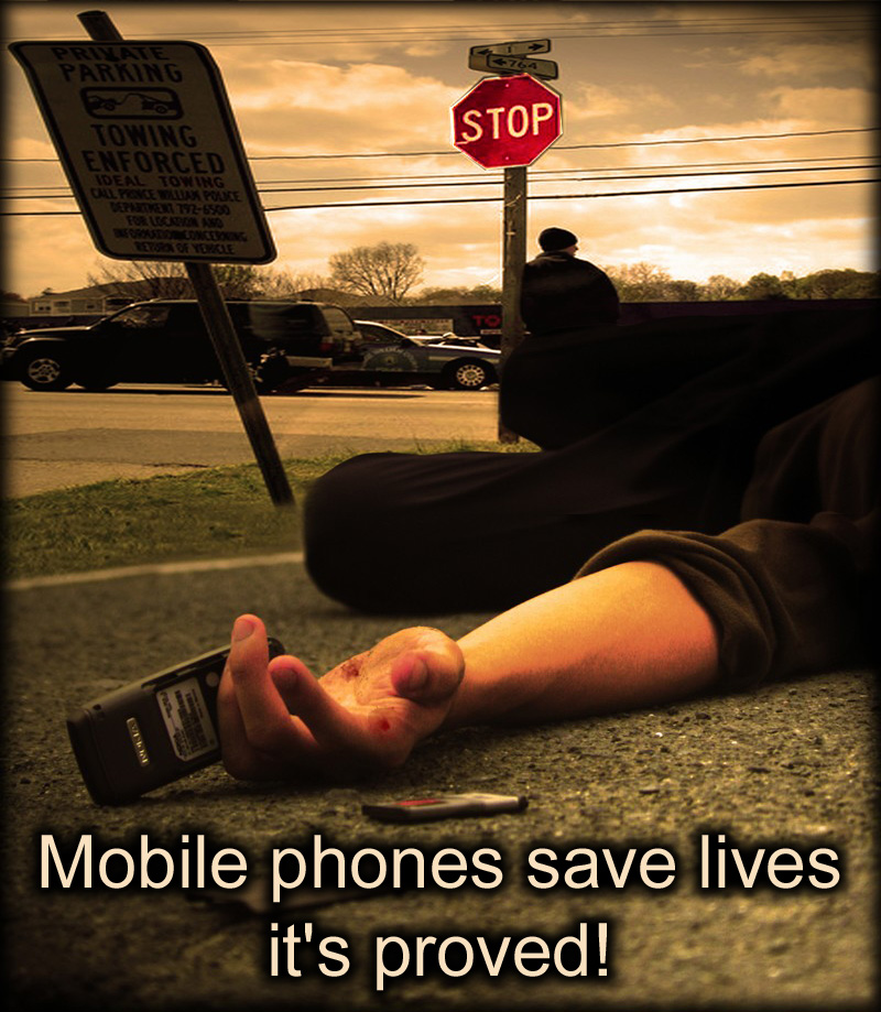 Poster_Mobile_phones_save lives_it_s_proved