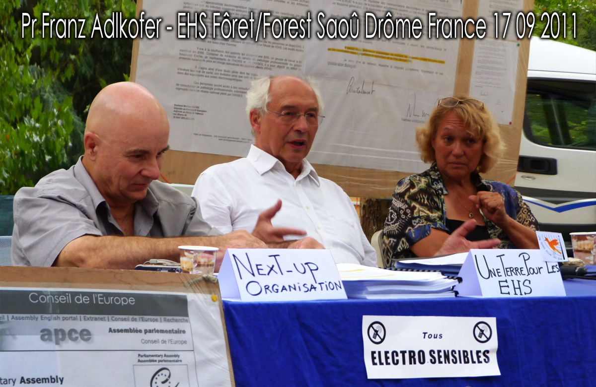 Pr_Franz_Adlkofer_Intervention_Tribune_Foret_de_Saou_Drome_France_17_09_2011_Une_Terre_Pour_les_EHS