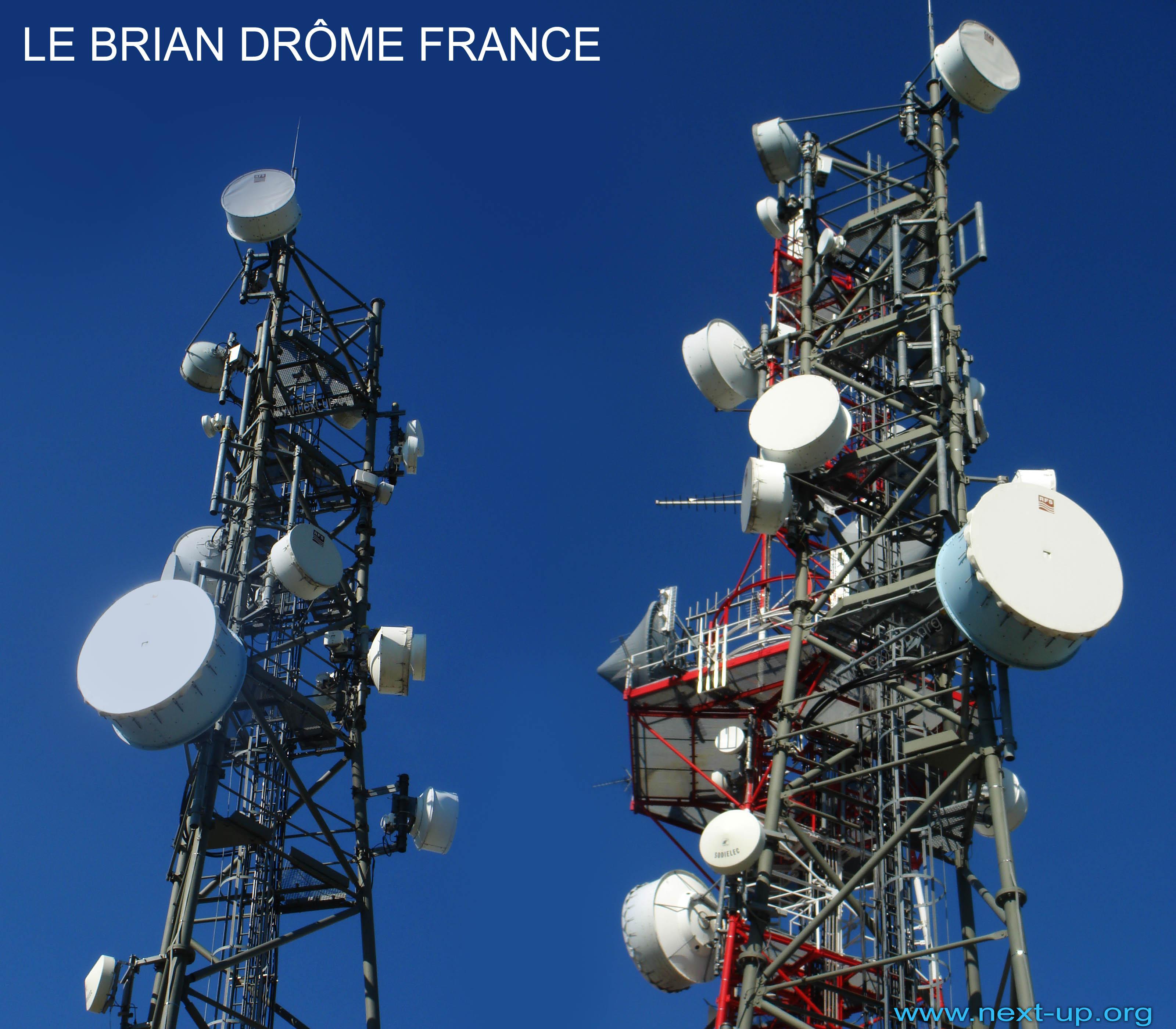 cartoradiations rh repeteur hertzien antennes relais