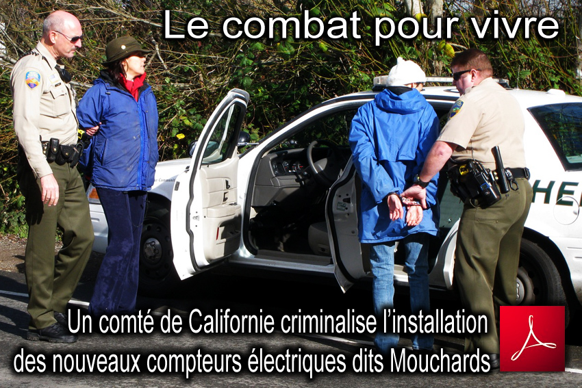 Smart_Meter_Opposition_Arrestation_Katarina_Sandizel_USA_Californie_Comte_Marin_news_TNYT