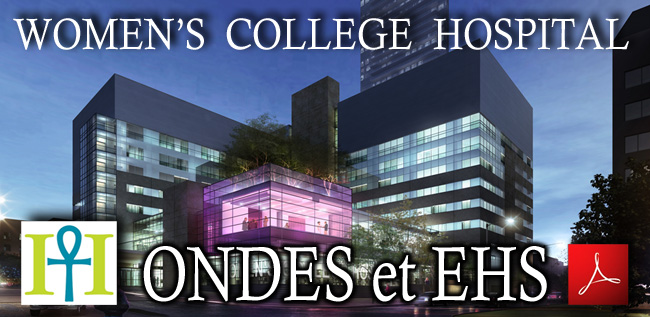 Womens_College_Hospital_Ondes_et_EHS_Magada_Havas_flyer_News