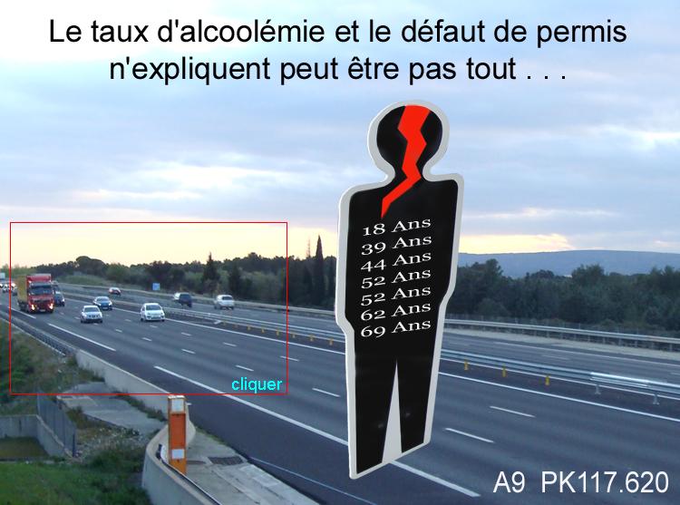 facteur accident autoroute